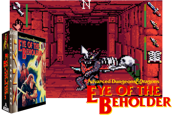 Atari Lynx - Eye of the Beholder
